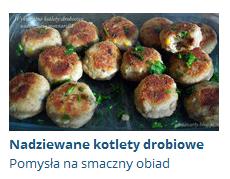 wykwintne kotlety drobiowe nadziewane mozzarellą