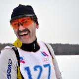 В.Кузнецов - активный участник всех соревнований в районе.
