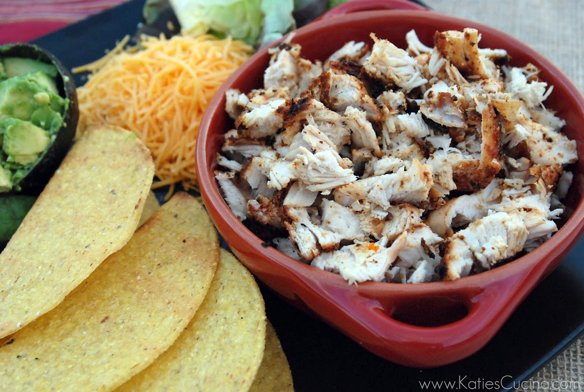 Grilled Chopped Chicken Tacos