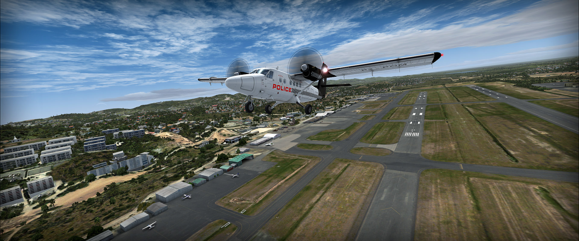 PNG #1 - Papua New Guinea - ORBX sceneries • C-Aviation
