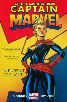 Captain Marvel, Vol. 1: In Pursuit of Flight by Kelly Sue DeConnick, Dexter Soy and Emma Ríos
