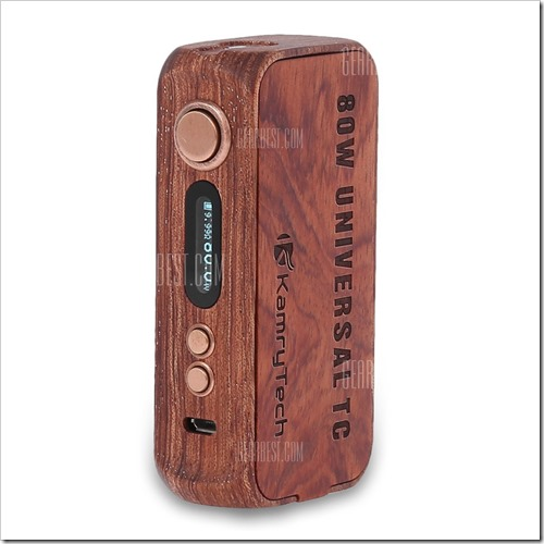 20160701140735 23603 thumb%25255B2%25255D - 【海外】「TESLA AIO 70W TC Box Mod Kit」「Unicorn U2 Atomizer」「Kamry 80W UTC Wooden Box Mod」「Halo Tribeca」【GearBest】