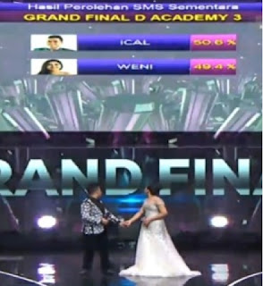 juara 1 dacademy 3 indosiar usai grand final