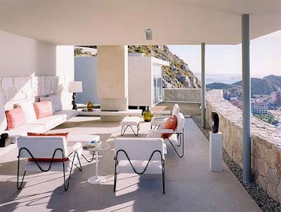 Casa Finisterra 15 Rumah Minimalis Indah Di Tebing Batu