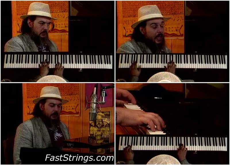 Dr. John Teaches New Orleans Piano. Lesson One