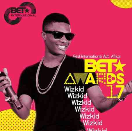 Wizkid Wins BET 2017 Best Intl African Act