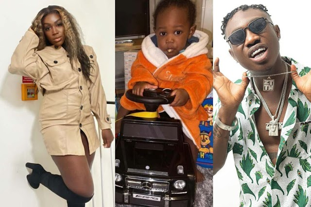 ZLATAN IBILE'S BABY MAMA, DAVITA CELEBRATES SON'S FIRST BIRTHDAY WITH LOVELY NOTE