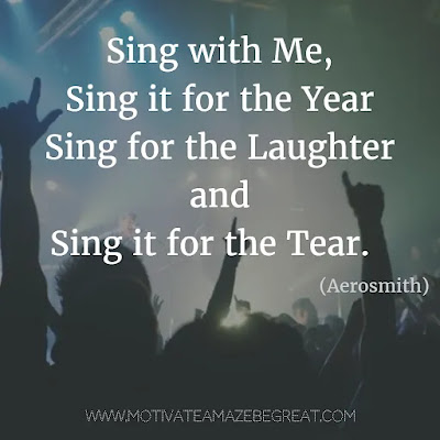 """Featured in our Most Inspirational Song Lines and Lyrics Ever:  Aerosmith """"Dream On"""" inspirational song lyrics."""