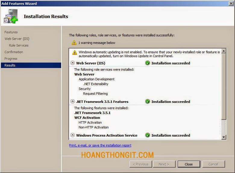 Hướng dẫn cài đặt Forefront Threat Management Gateway (TMG) 2010