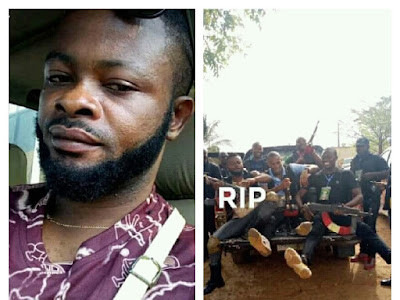 SARS Officer Killed While Trying To Rescue A Woman Kidnapped By Armed Fulani Herders In Anambra.