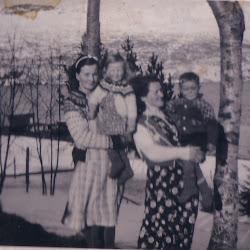 Mamma Elsa Tante Borghild og Tormod