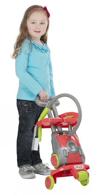 Đồ chơi Dụng cụ làm vệ sinh Smart Cleaning Trolley