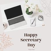 Selamat Hari Setiausaha Pada Semua Setiausaha