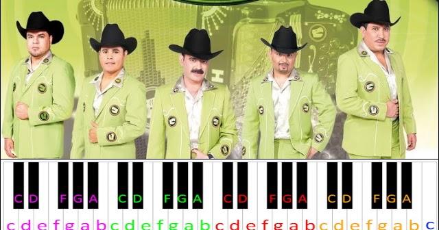 La Chona Los Tucanes De Tijuana Piano Letter Notes Home tracks los tucanes de tijuana la chona umg. la chona los tucanes de tijuana