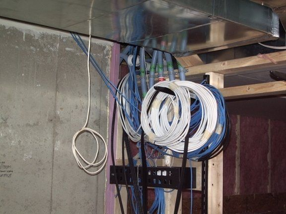 junction box for phone cable from pole the garage journal board
