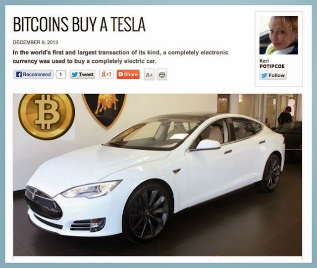 bitcoins buy car