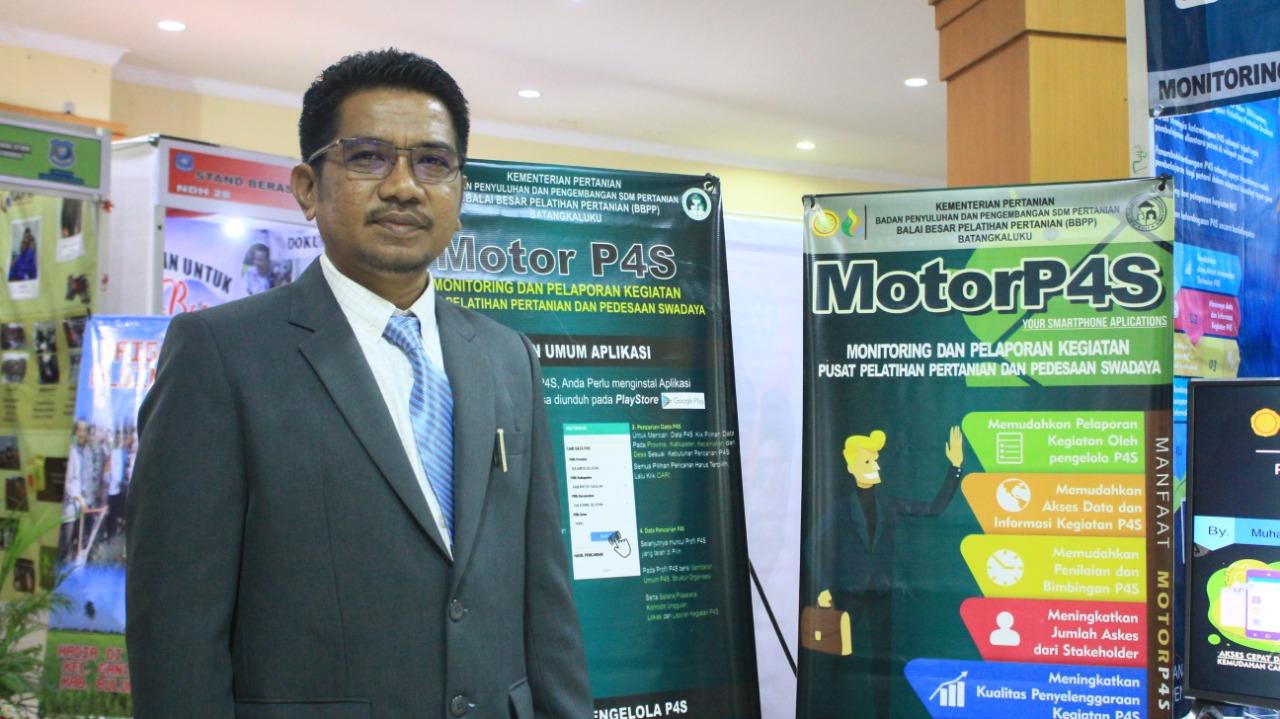 MotorP4S, Proyek Perubahan Inovatif di Pameran Diklat PIM III LAN RI Makassar