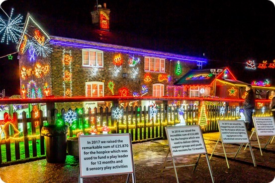 Weston Christmas Light Display 2018 (4)