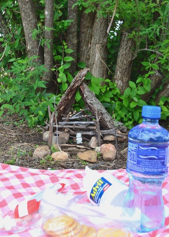 Advil picnic fairy hut