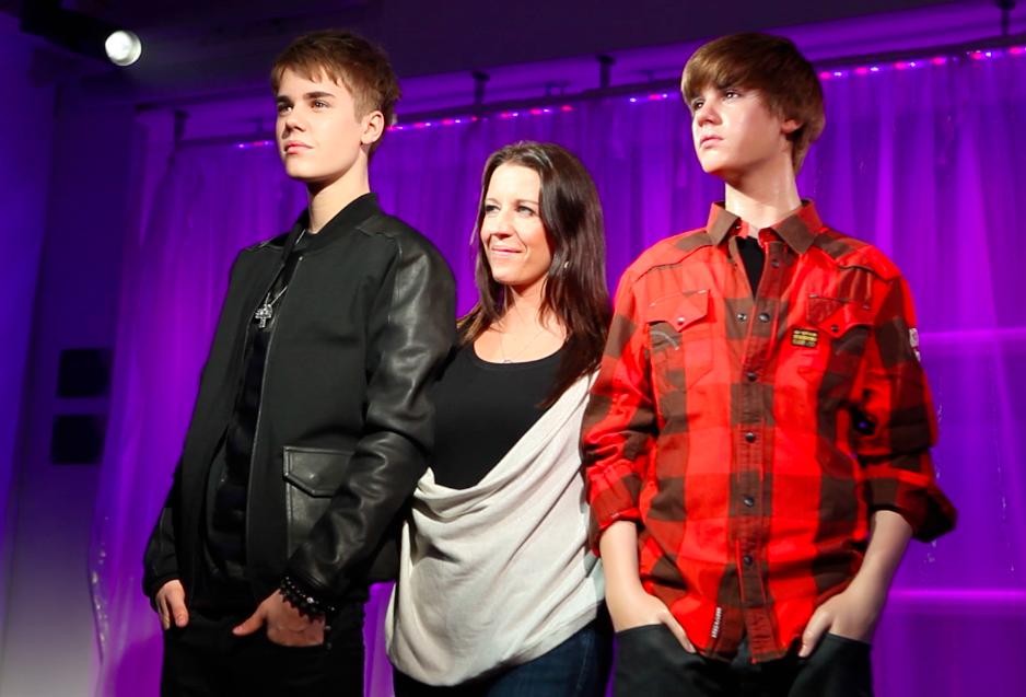justin bieber wax museum. Justin Bieber #39;s wax figure