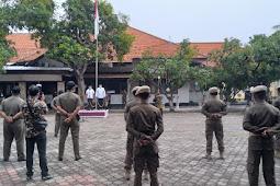 Dalam Rangka HUT Yang Ke 71, Sapolpp Kota Pasuruan Melaksanakan Apel Gelar Pasukan