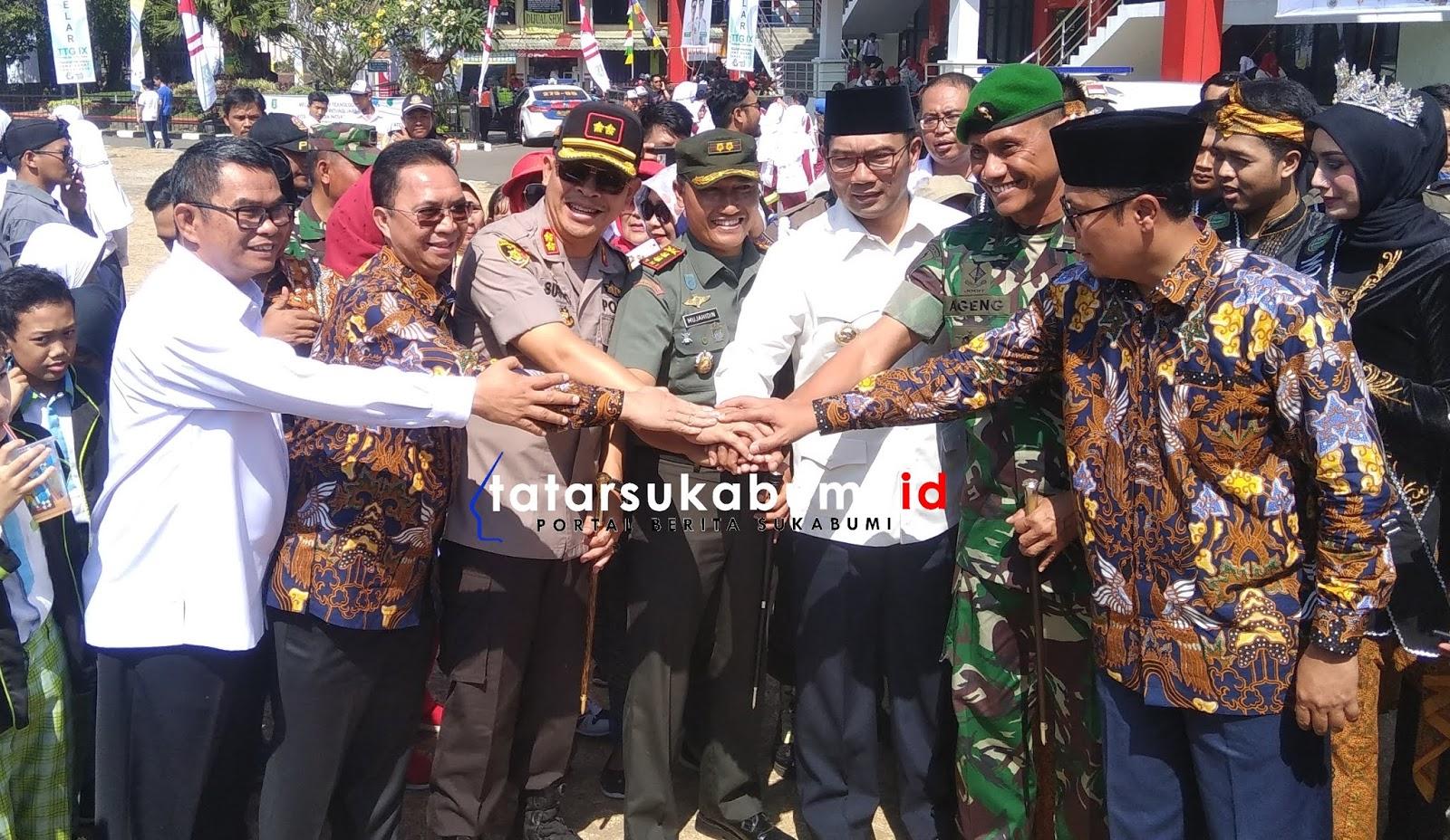 Ridwan Kamil Genjot Pembangunan Flyover Jalur Lingkar Selatan Sukabumi Dipastikan 2019 Selesai