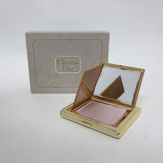 Christian Dior Vintage Deco Powder Compact