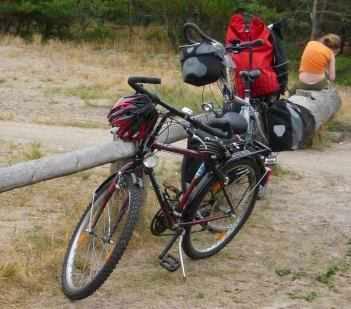 Centano Jugend-Fahrrad 26 Zoll und Panther Dominance Trekking (Foto: Martin Bullinger)
