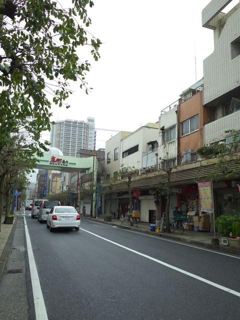 京町銀天街から曲がった中銀通り