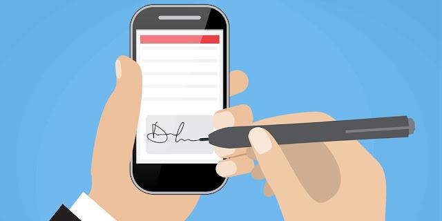 كيفية توقيع المستندات دون الحاجة إلى طباعتها باستخدام هاتفك فقط