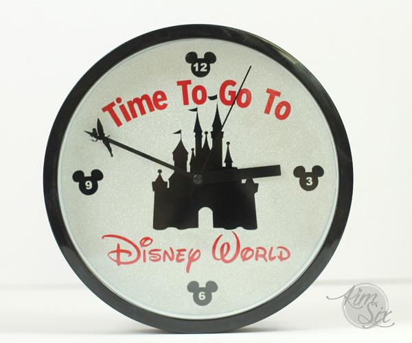 Disneyworld Castle Clock