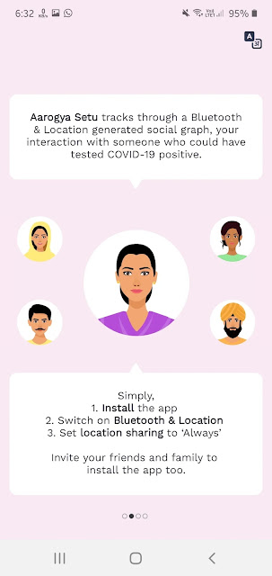 "How to download ""Arogya setu App"" And How to use or install ""Arohya setu App"" in very easy way ( step by step )Hindi"