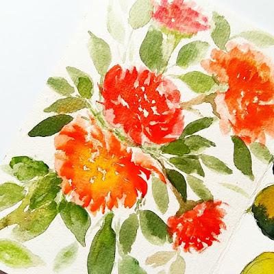 ndonesia zine melukis bunga