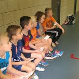 Badmintonles groep 5