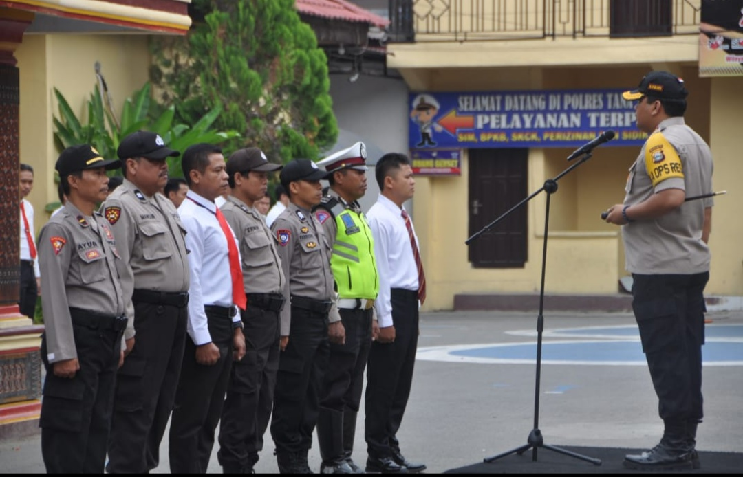 Hari Kesaktian Pancasila, Kapolres Tana Toraja Tekankan Prinsip Gotong Royong