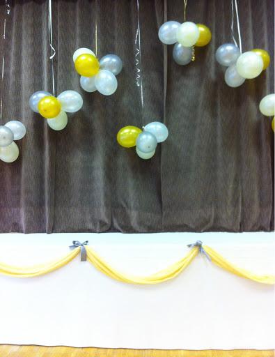 juhla häät koristeet koristelu esiintymislava