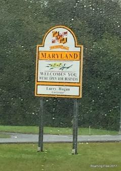 Rainy Maryland