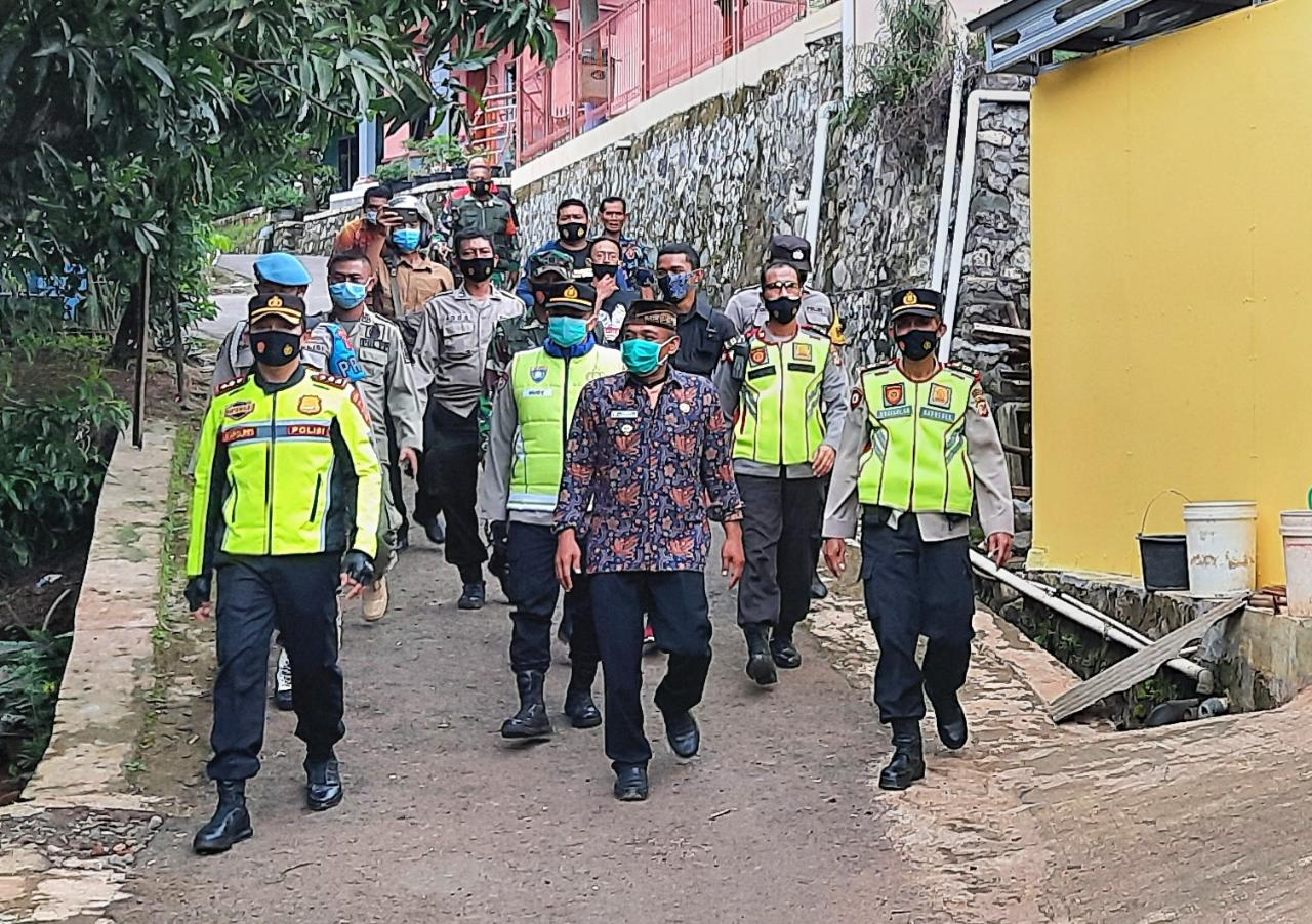 Kapolres Majalengka Cek Kampung Mati Di Blok Tarikolot Desa Sidamukti