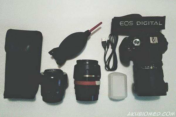kamera dslr dan aksesori