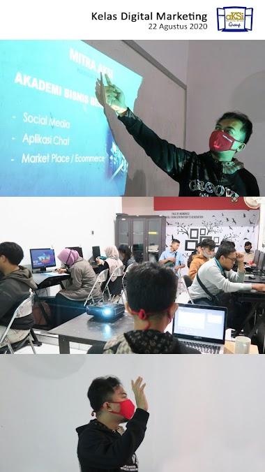 Kelas Digital Marketing Peserta Kejar Paket Abc