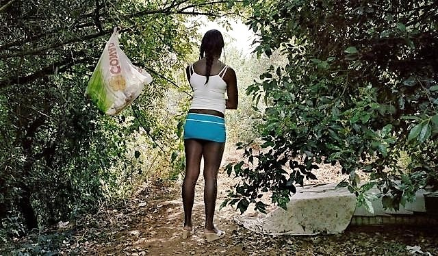 Shameful Photos! Deep Inside The Forest Of Italy Lies Loads Of SexWorkers Who Come From Nigeria