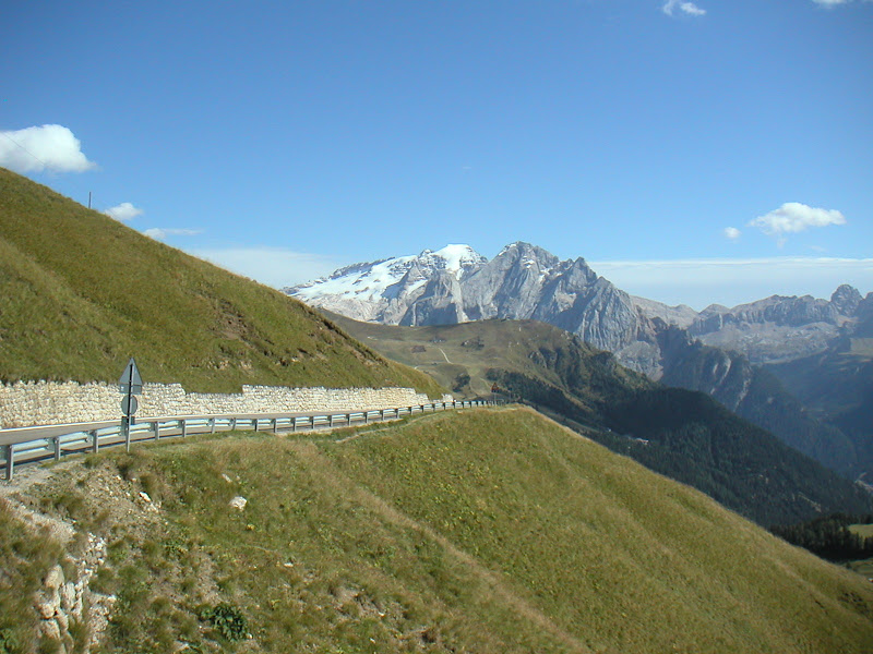 Dolomites • View of Marmolada (from Passo Gardena)