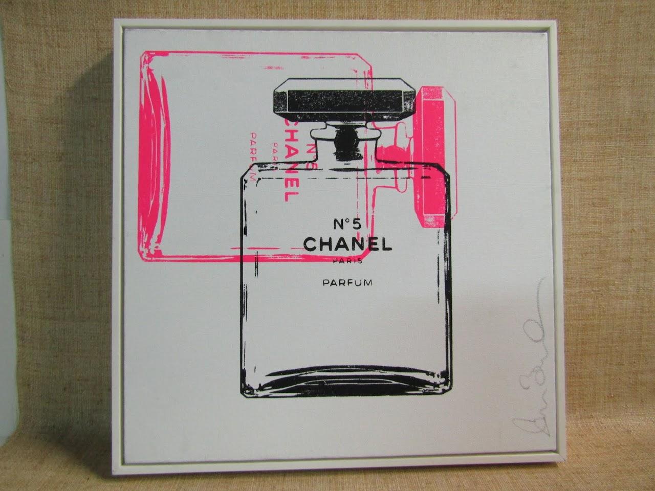 Signed Pop Art - Chanel No. 5