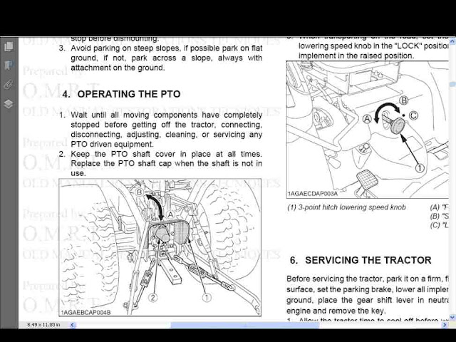 kubota zd331 owners manual pdf