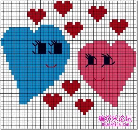 corazones en punto de cruz laborespuntocruz (16)