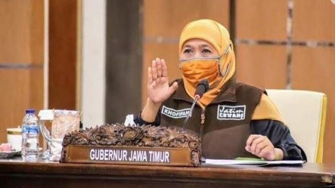 Gubernur Khofifah Masih Diisolasi di Hotel Tuban Setelah Positif Kena Covid Lagi