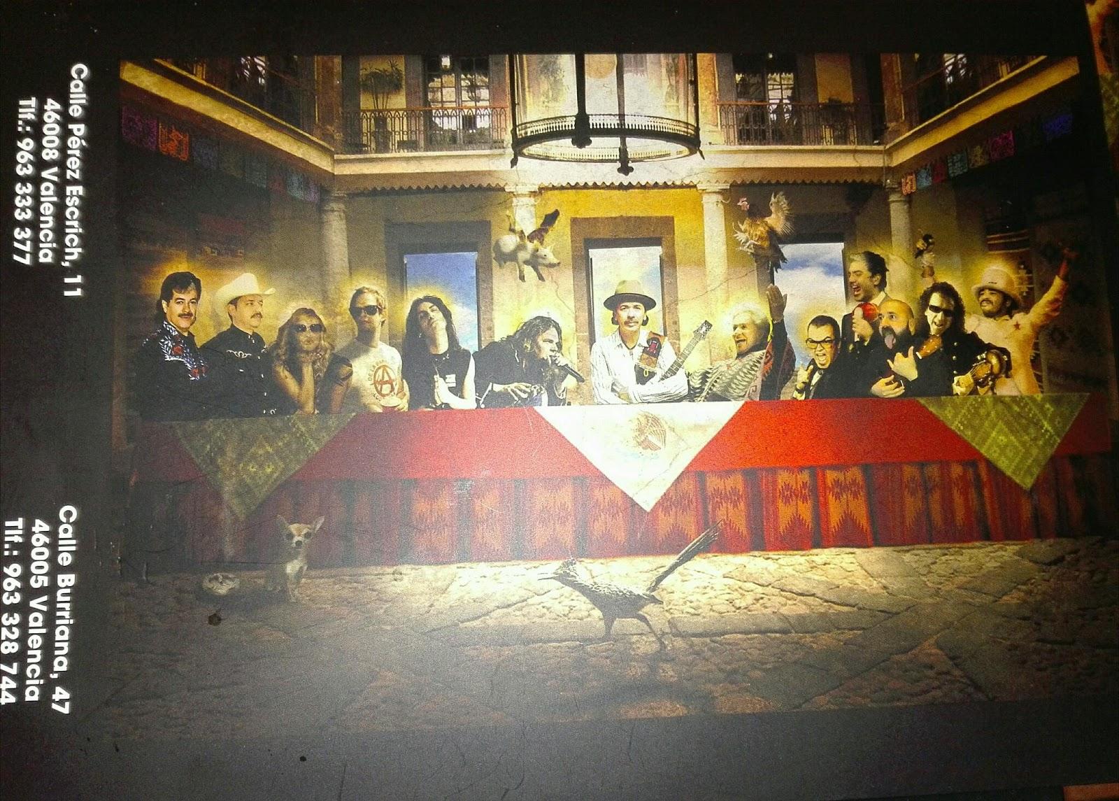 mejicanos en valencia