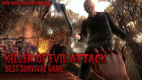 Killer of Evil Attack - Best Survival Game Imagem do Jogo