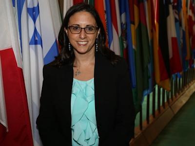 Sarah Weiss Meudi  é eleita Vice-presidente  do Comitê de Assuntos Jurídicos da ONU
