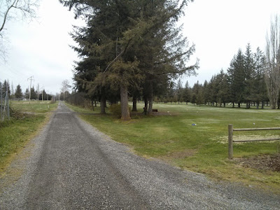 Crossing the Mt Si Golf Course